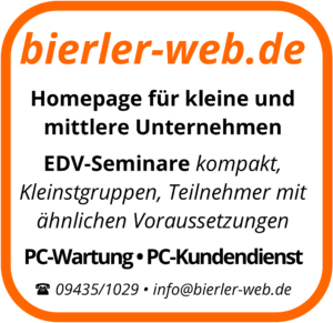 Bierler-web.de - Webdesign-Homepages-EDV-Seminare, PC-Kundendienst